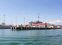 Seaport facilities Stock Images