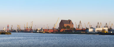 Seaport of Kaliningrad Royalty Free Stock Image