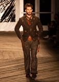 Joseph Abboud Mens Fall 2019 Fashion show as part of New York Fashion Week stock photography