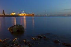 Seaport Royalty Free Stock Photos