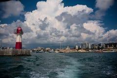 Seaport in Sochi Royalty Free Stock Photos