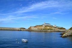 Seaport of Tapia, Asturias, Spain Stock Images