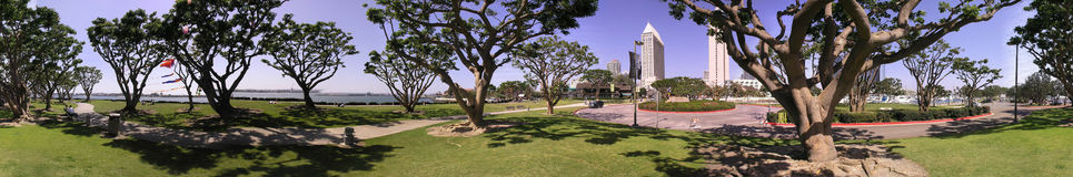 Seaport Village. San Diego Royalty Free Stock Photography