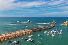 The seaport village of fishermen in Portugal. Alentejo. Stock Images