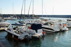 Seaport and yacht marina Imeretinsky stock image
