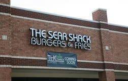 Sear Shack Image libre de droits