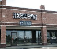 The Sear Shack Burgers and Fries Royalty Free Stock Photography