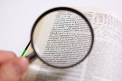 Search. A close up of the word search in the dictionary stock photography