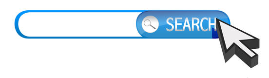 Search bar Stock Image