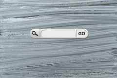 Search bar in browser Stock Photography