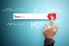 Search bar concept Royalty Free Stock Images