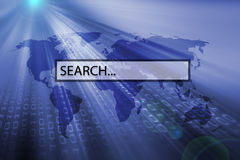 Search bar Royalty Free Stock Images
