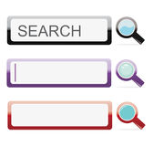 Search bars Stock Photos