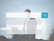 Search Box Technology Internet Browse Browsing Online Concept Royalty Free Stock Photos