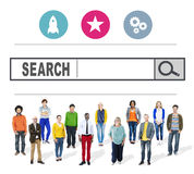 Search Browsing Web Internet Information Online Concept Stock Photo
