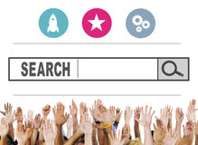 Search Browsing Web Internet Information Online Concept Stock Images