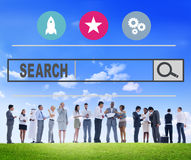 Search Browsing Web Internet Information Online Concept.  Royalty Free Stock Images
