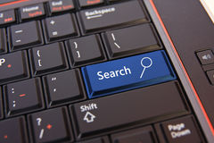 Search button on keyboard Royalty Free Stock Images