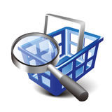 Search cart Royalty Free Stock Photo