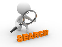 Search concept Stock Photography