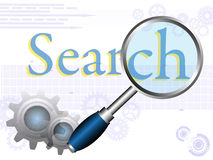Search concept Royalty Free Stock Photos