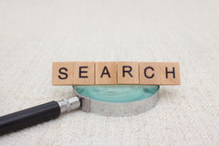 Search concept header image Royalty Free Stock Photos