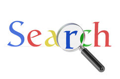 Search concept Royalty Free Stock Photography