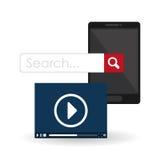 Search design. lupe icon. marketing  concept Stock Photo
