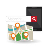 Search design. lupe icon. marketing  concept Royalty Free Stock Image