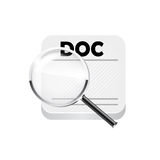 Search documents. Vector Royalty Free Stock Images