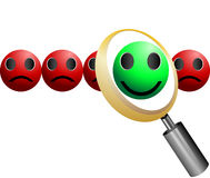Search Employee Icon for Recruitment Agency Stock Image