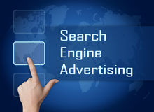 Search Engine Advertising Royalty Free Stock Image