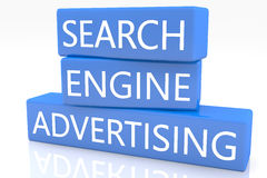 Search Engine Advertising Royalty Free Stock Photos