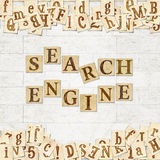 Search engine Royalty Free Stock Photos