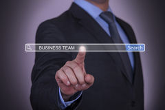 Search Engine Business Team Concept Stock Photo