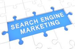 Search Engine Marketing stock abbildung