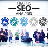 Search Engine Optimisation Analysis Information Data Concept Stock Photos