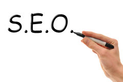 Search Engine Optimization Royalty Free Stock Images
