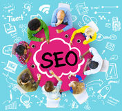 Search Engine Optimization Business Strategy Marketing Concept Stock Images