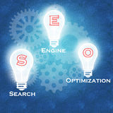 Search Engine Optimization & business success Stock Image