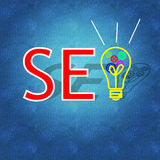 Search Engine Optimization & business success Stock Photos