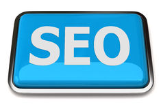 Search Engine Optimization button Royalty Free Stock Photos