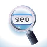 Search engine optimization concept Stock Photos