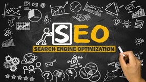 Search engine optimization concept Royalty Free Stock Photo