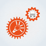 Search engine optimization design. Illustration eps10 graphic Royalty Free Stock Photo