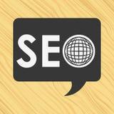 Search engine optimization design. Illustration eps10 graphic Stock Image
