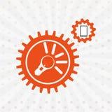 Search engine optimization design. Illustration eps10 graphic Stock Photos
