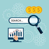 Search engine optimization Royalty Free Stock Image