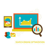 Search Engine Optimization Royalty Free Stock Photography