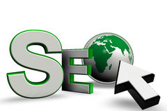 Search Engine Optimization Green Stock Photo